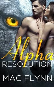 Alpha Resolution: Alpha Blood, Book 3 - copertina