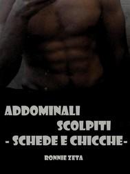 Addominali Scolpiti - Schede e Chicche - - copertina