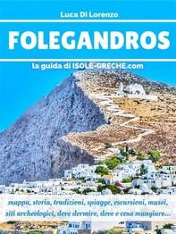 Folegandros - La guida di isole-greche.com - Librerie.coop
