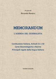 Memorandum - Librerie.coop