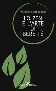 Lo Zen e l'arte di bere tè - copertina
