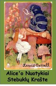 Alice'o Nuotykiai Stebuklų Krašte - copertina
