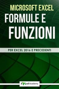 Formule e funzioni di Excel - Librerie.coop