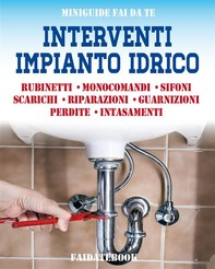 Interventi impianto idrico - Librerie.coop