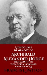 A Discourse in Memory of A. A. Hodge - copertina