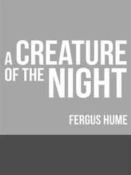 A Creature of the Night - copertina
