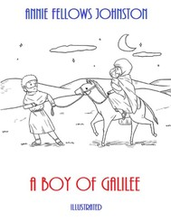 A Boy of Galilee (Illustrated) - copertina