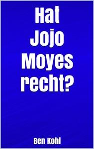 Hat Jojo Moyes recht? - copertina
