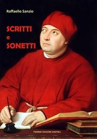 Scritti e Sonetti - copertina