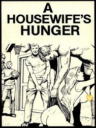 A Housewife's Hunger (Vintage Erotic Novel) - copertina