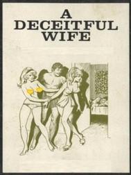 A Deceitful Wife (Vintage Erotic Novel) - copertina