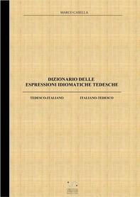 Dizionario delle espressioni idiomatiche tedesche - Librerie.coop