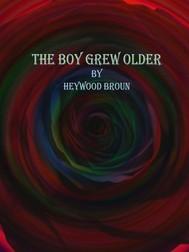 The Boy Grew Older - copertina