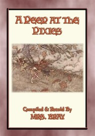 A PEEP AT THE PIXIES - 6 of the most popular Pixie tales from Dartmoor - copertina