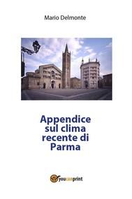 Appendice sul clima recente di Parma - copertina