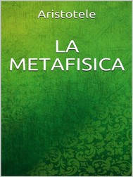 La metafisica - copertina