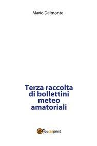 Terza raccolta di bollettini meteo amatoriali - copertina