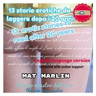 13 erotic stories (to read after 20 years) - copertina