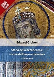 Storia della decadenza e rovina dell'Impero Romano, volume 3 - copertina