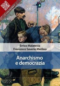 Anarchismo e democrazia - Librerie.coop