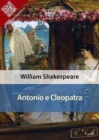 Antonio E Cleopatra - Librerie.coop
