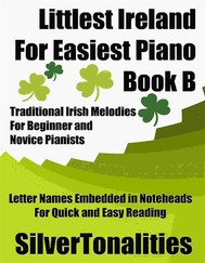 Littlest Ireland for Easiest Piano Book B - copertina