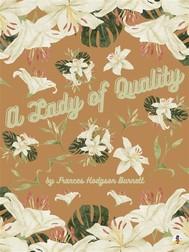 A Lady of Quality - copertina
