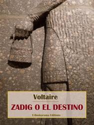 Zadig o el destino - copertina