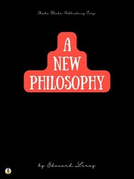 A New Philosophy: Henri Bergson - copertina