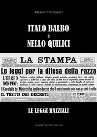 Italo Balbo e Nello Quilici - Librerie.coop