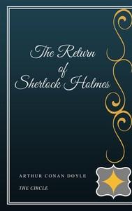 The Return of Sherlock Holmes - copertina