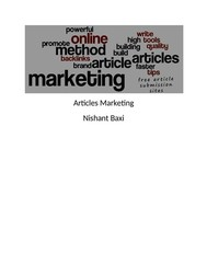Articles Marketing - copertina