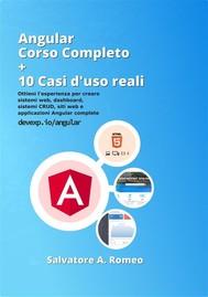 Angular Corso Completo + 10 esempi da casi d'uso reali - copertina