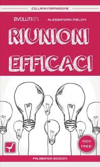 Riunioni efficaci - Librerie.coop