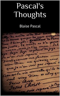 Pascal's Thoughts - Librerie.coop