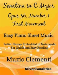 Sonatina in C Major Opus 36 Number 1 First Movement Easy Piano Sheet Music - Librerie.coop