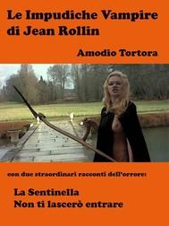 Le Impudiche Vampire di Jean Rollin - copertina