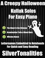 A Creepy Halloween Kullak Solos for Easy Piano  - copertina