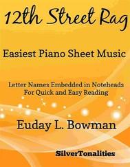 12th Street Rag Easiest Piano Sheet Music - copertina