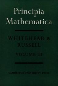 Principia Mathematica (Volume III) - copertina