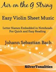 Air on the G String Easy Violin Sheet Music - copertina