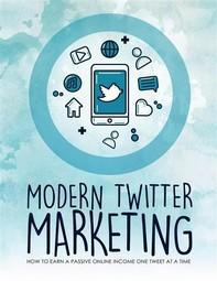 Modern Twitter Marketing - Librerie.coop