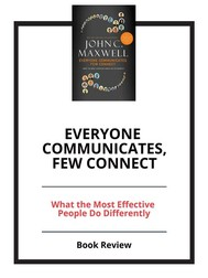 Everyone Communicates, Few Connect - copertina