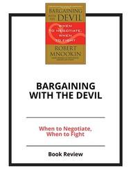Bargaining with the Devil - copertina