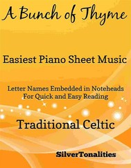 A Bunch of Thyme Easiest Piano Sheet Music - copertina