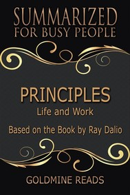 Principles - Summarized for Busy People - copertina