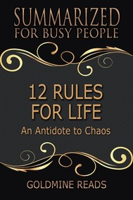 12 Rules for Life - Summarized for Busy People - copertina