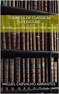 Sources of Classical Literature - Librerie.coop