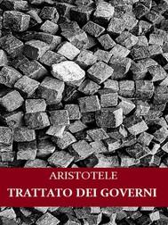 Trattato dei governi - copertina