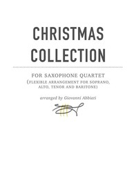 Christmas Collection for Saxophone Quartet - Librerie.coop